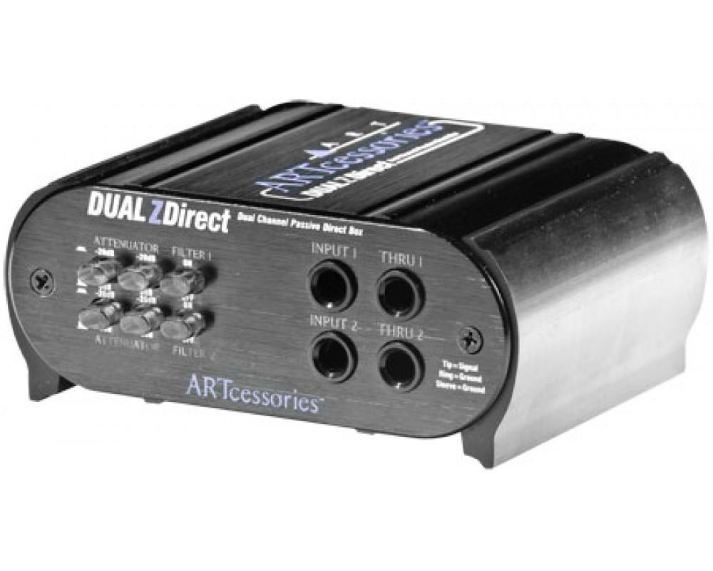 Директ-бокс ART Dual Z-Direct