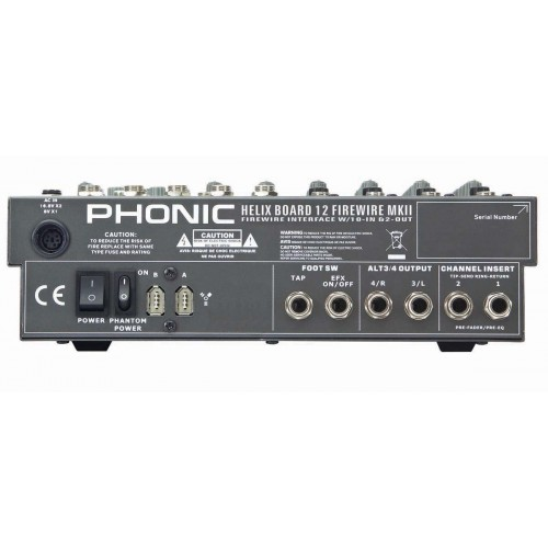 Phonic HELIX BOARD 12 Firewire MKII