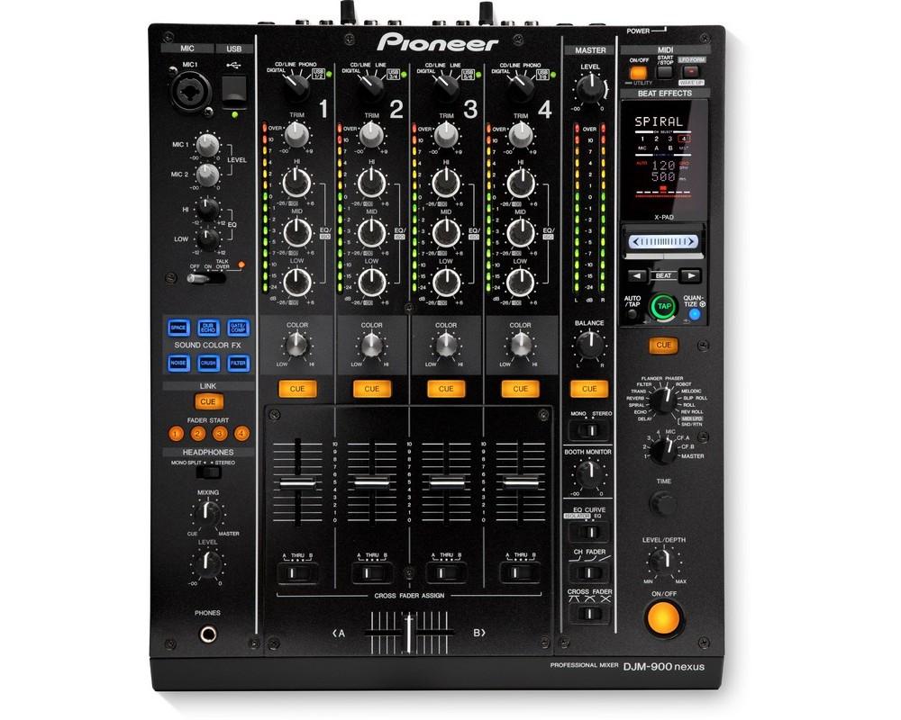 4-х канальный DJ-микшер с процессором эффектов Pioneer DJM-900NXS